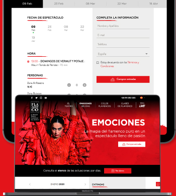 Ticketing para Teatro Flamenco Madrid